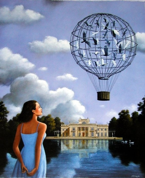 09-Rafal-Olbinski-Paintings-of-Poetic-Surrealism-www-designstack-co