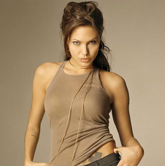 Stars Angelina Jolie Nude Hot Free Gif