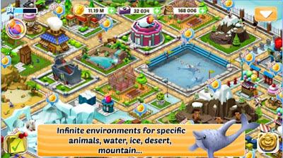 Download Zoo Evolution Apk mega Mod terbaru