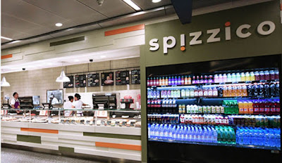 Source: Qatar Airways. Spizzico is one of two new restaurants in the North Node at Hamad International Airport.