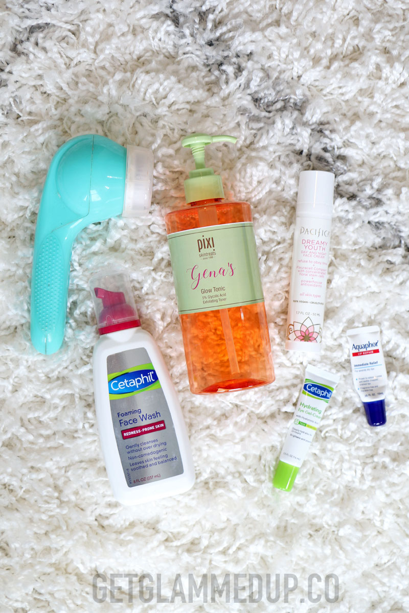 Drugstore Night Time Skincare Products