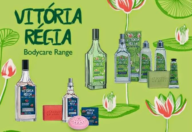 L'OCCITANE au Bresil - Vitoria Regia & Jenipapo, L'OCCITANE au Bresil, L'OCCITANE Vitoria Regia Day Flower, L'OCCITANE Vitoria Regia Night Flower, L'OCCITANE Jenipapo, Brazilian Summer