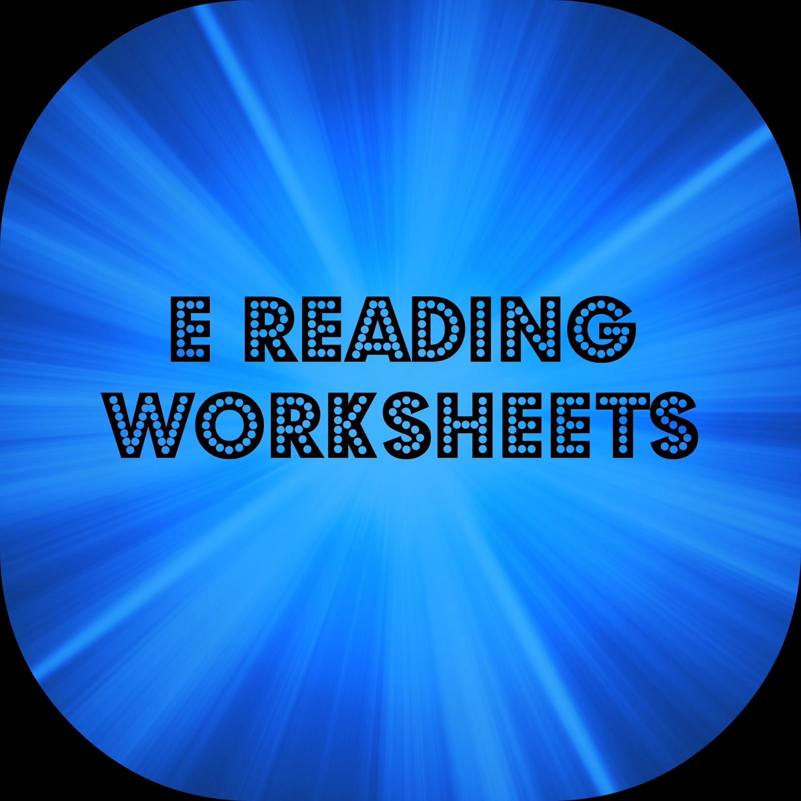 Oodles Of Teaching Fun E Reading Worksheets
