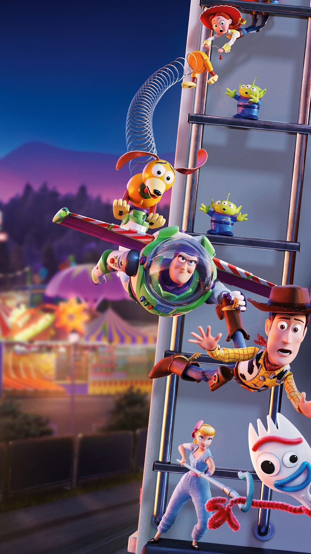 Toy Story 4 Characters 8k Wallpaper 14