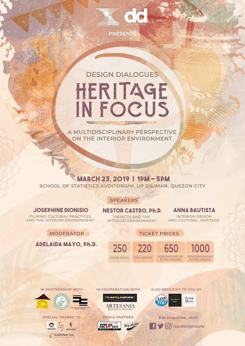 Design Dialogues: Heritage in Focus