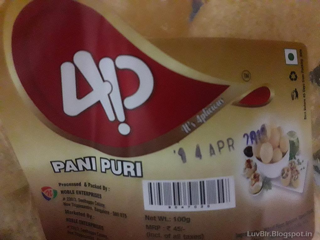 Ready made Panipuri