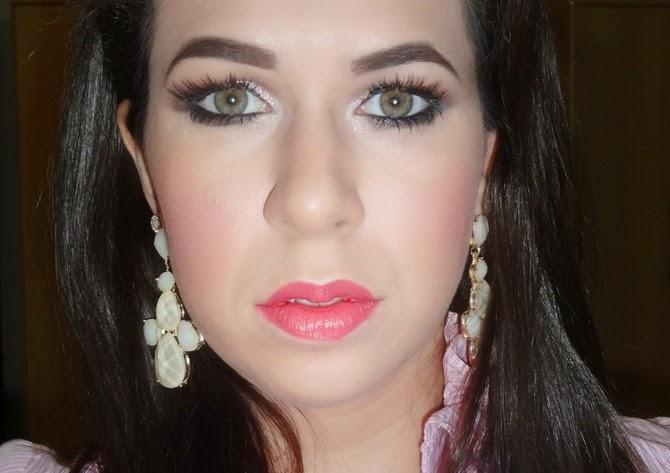 Passo a passo Tutorial maquiagem romântica