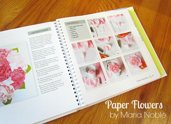 Paisly Chicken And A Book Review Handmade Paper Flowers By Maria Noble