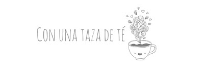 Con una taza de té