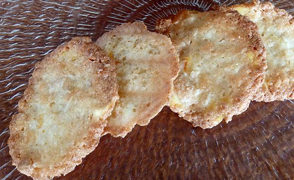 Feos zamoranos (pastas de almendra)