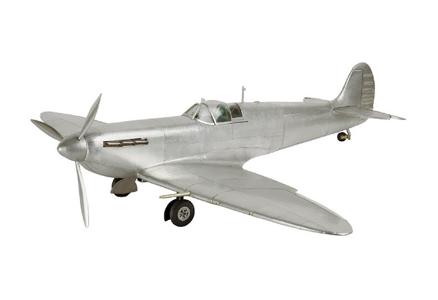 1936 Spitfire Fighter Airplane Model