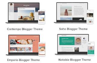Template Blogger Terbaru Sesuai Trend:
