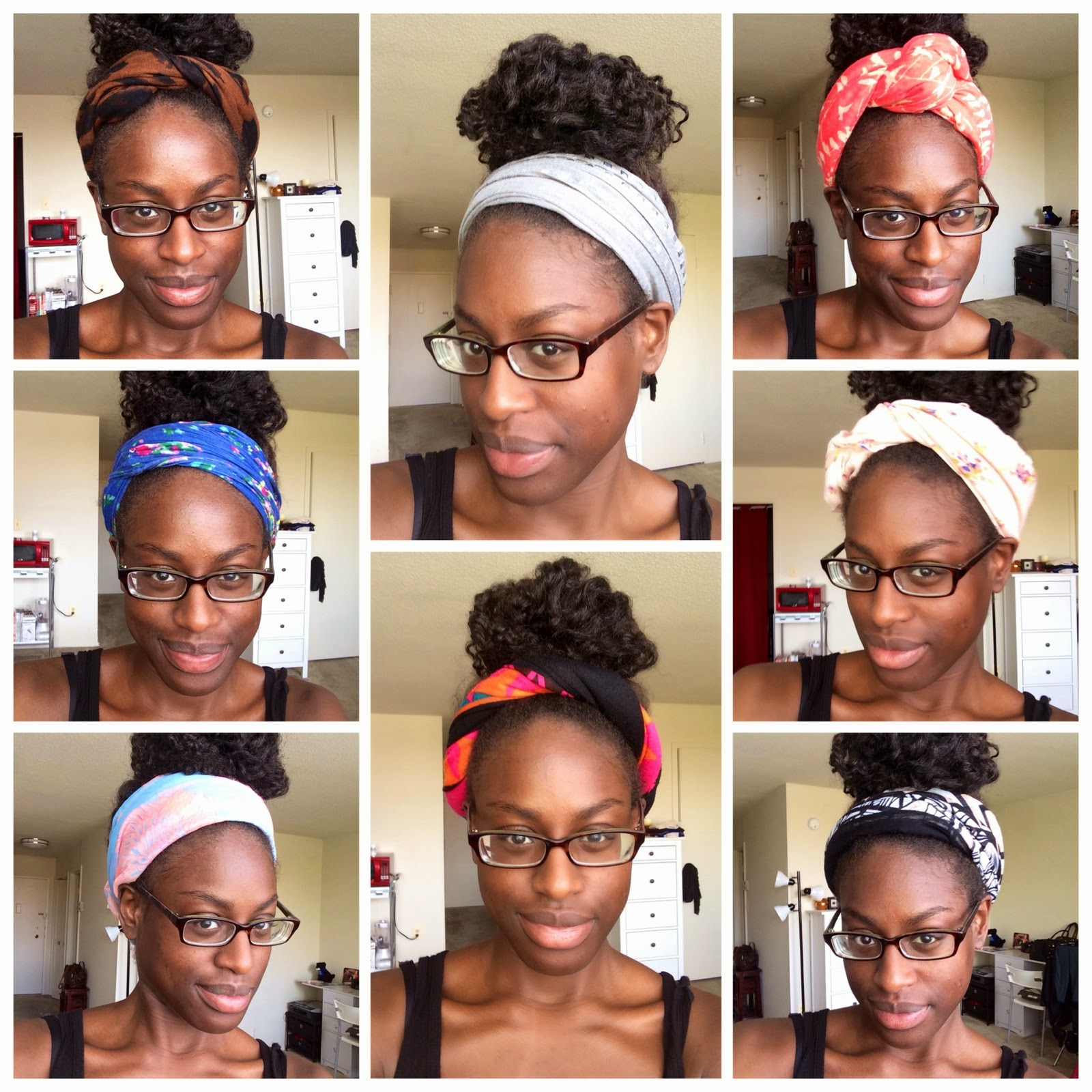 FroBunni: Natural Hair Accessories: Fun with Scarves!