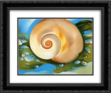 Georgia O'Keeffe Shell Painting