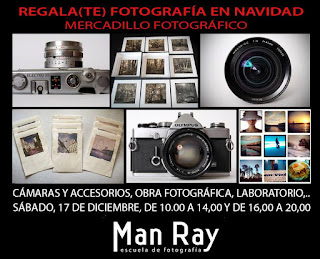Mercadillo fotográfico de Navidad Man Ray 2016 (3ª Edición)