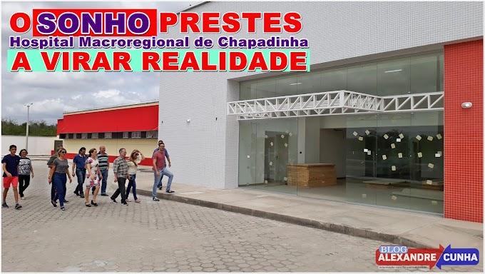 O sonho prestes a virar realidade: Deputado Levi Pontes fiscaliza obras do Hospital Macroregional de Chapadinha, e garante inauguração no início de 2018.