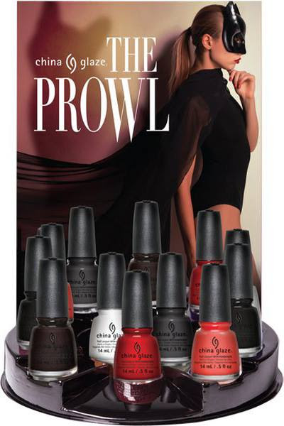 China Glaze The Prowl Halloween 2016 Nail Polish Collection