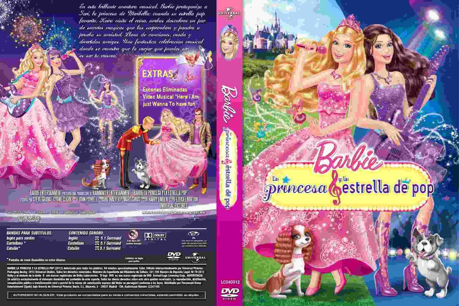 Barbie La Princesa y la Estrella del Pop 2012   El