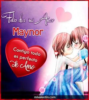 Feliz San Valentín Maynor