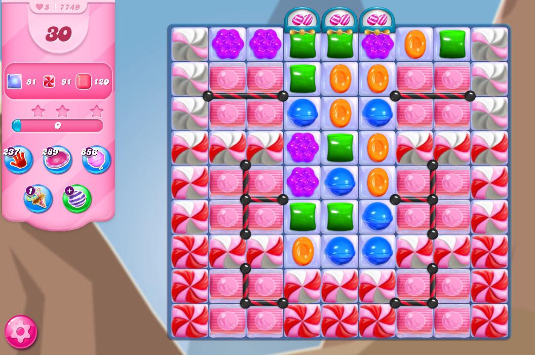 Candy Crush Saga level 7749