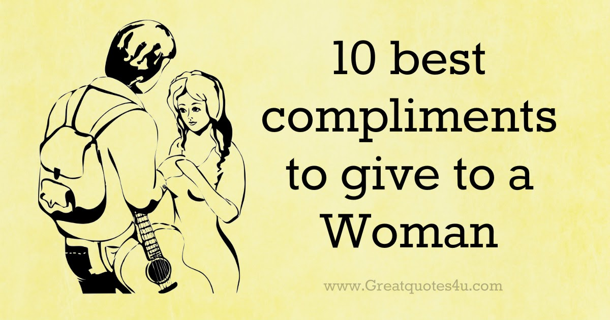 the best compliments for a girl