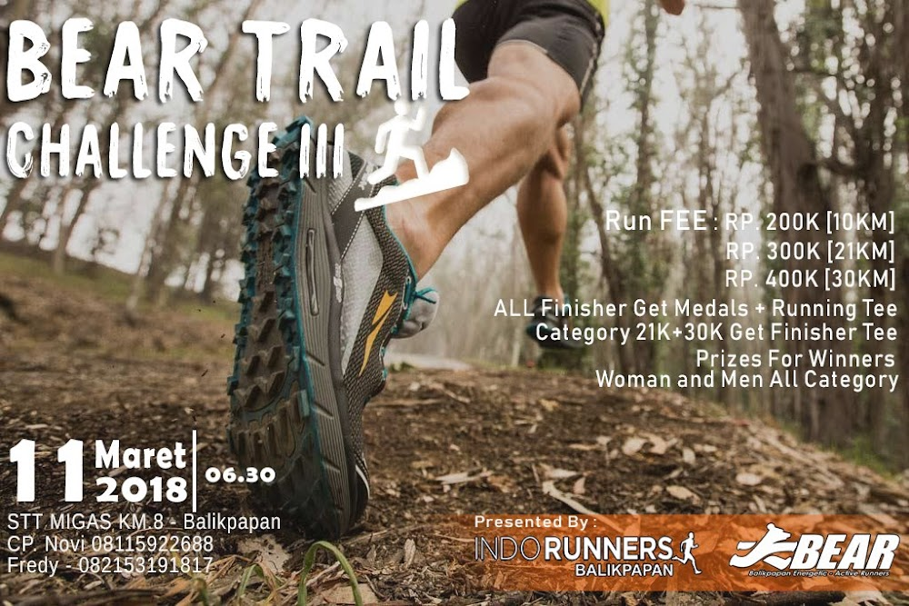 Bear Trail Challenge III • 2018