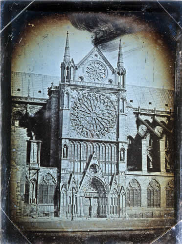 All The Girls Standing In The Line For The Bathroom: Old Photos Of Notre Dame De Paris From Between The 1840s