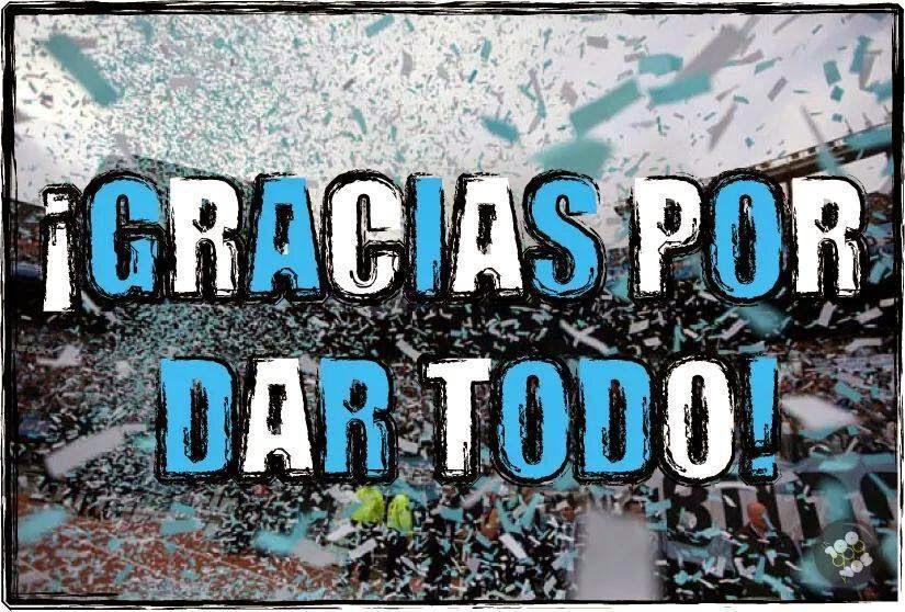 Gracias Argentina !!!!