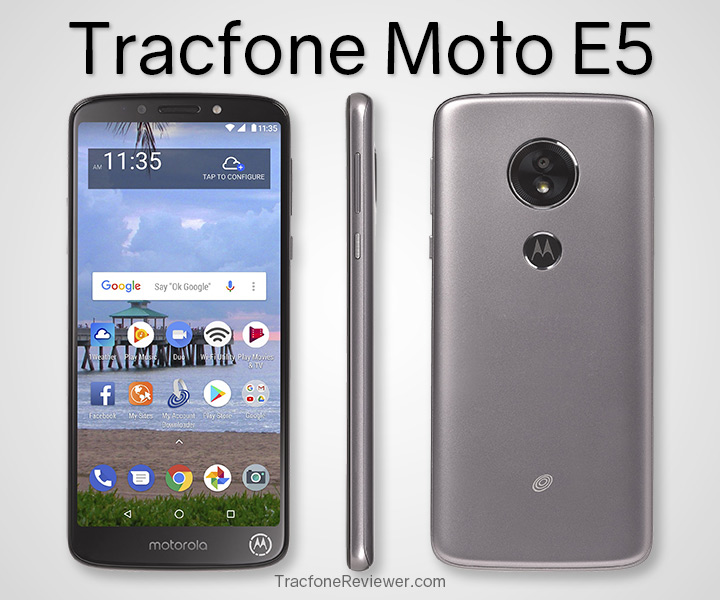 TracfoneReviewer: Tracfone Moto E5 (XT1920DL) Review