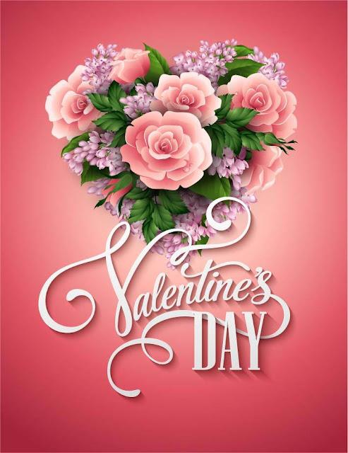 Valentines Day flower wallpaper