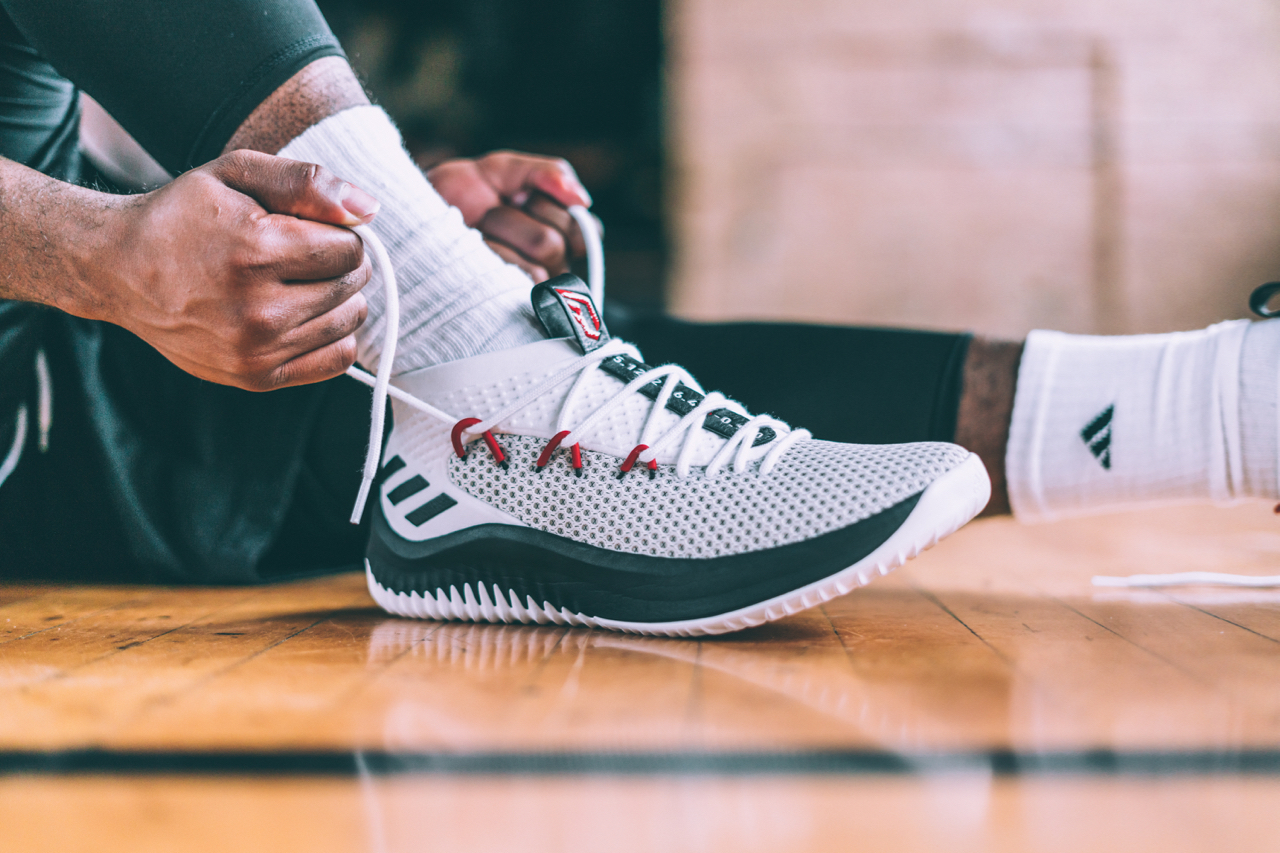 super cute 970f6 17f5a Love it or hate it… you know what time it is. adidas took on the challenge  of creating zero distractions with the Dame 4, elevating the importance of  all ...