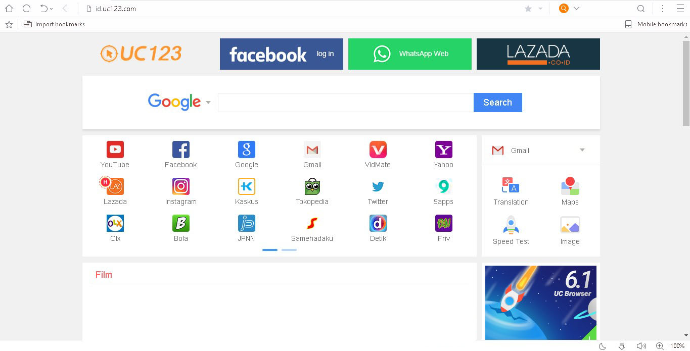 Download UC Browser PC Web Browser for Windows 10, 8, 7 ... Uc Browser For Windows 7