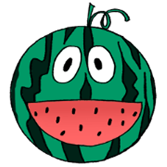 Funny Fruits Face
