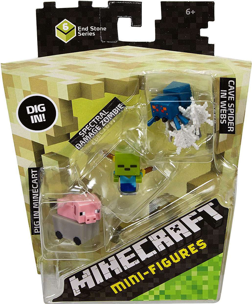Minecraft Toys And Mini Figures For Kids : Minecraft series mini figures merch