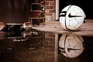 soccer reflection