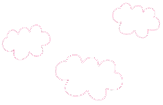 Decorations of the Baby Girl Bear Clipart.