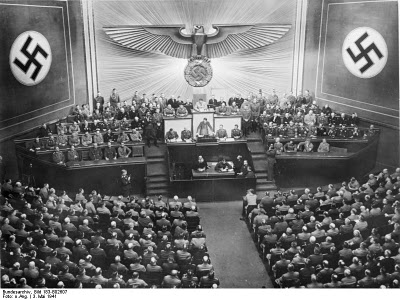 October 6 1939 worldwartwo.filminspector.com Reichstag Hitler Kroll Opera House