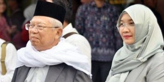 Kubu Jokowi dan Keluarga Bantah Hoaks Ma'ruf Amin Jatuh Sakit