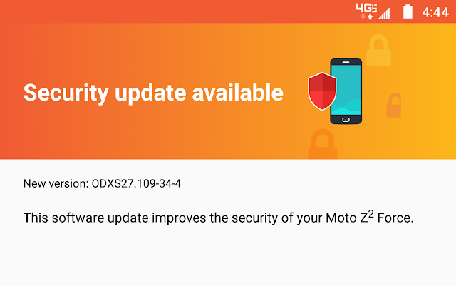 Moto Z2 Force on Verizon gets January 2018 Security Update