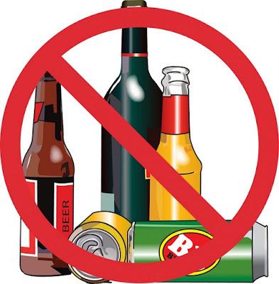 Không uống rượu bia, thuốc lá và những chất kích thích