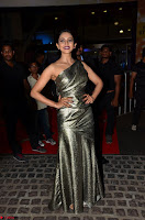 Rakul Preet Singh in Shining Glittering Golden Half Shoulder Gown at 64th Jio Filmfare Awards South ~  Exclusive 017.JPG