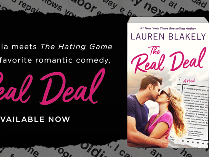 The Real Deal  by Lauren Blakely | Release Day Review + Excerpt