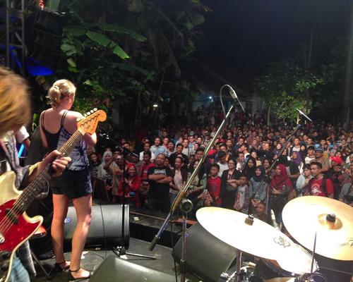 Tinuku Travel Ngayogjazz, an annual international jazz festival as folk culture in rural atmosphere of Yogyakarta