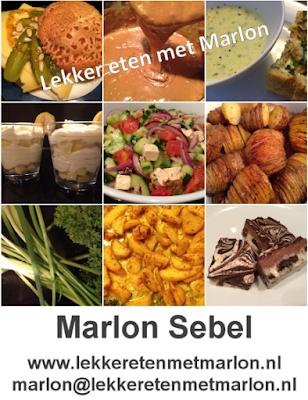 Ken je mijn blog lekker eten met Marlon al