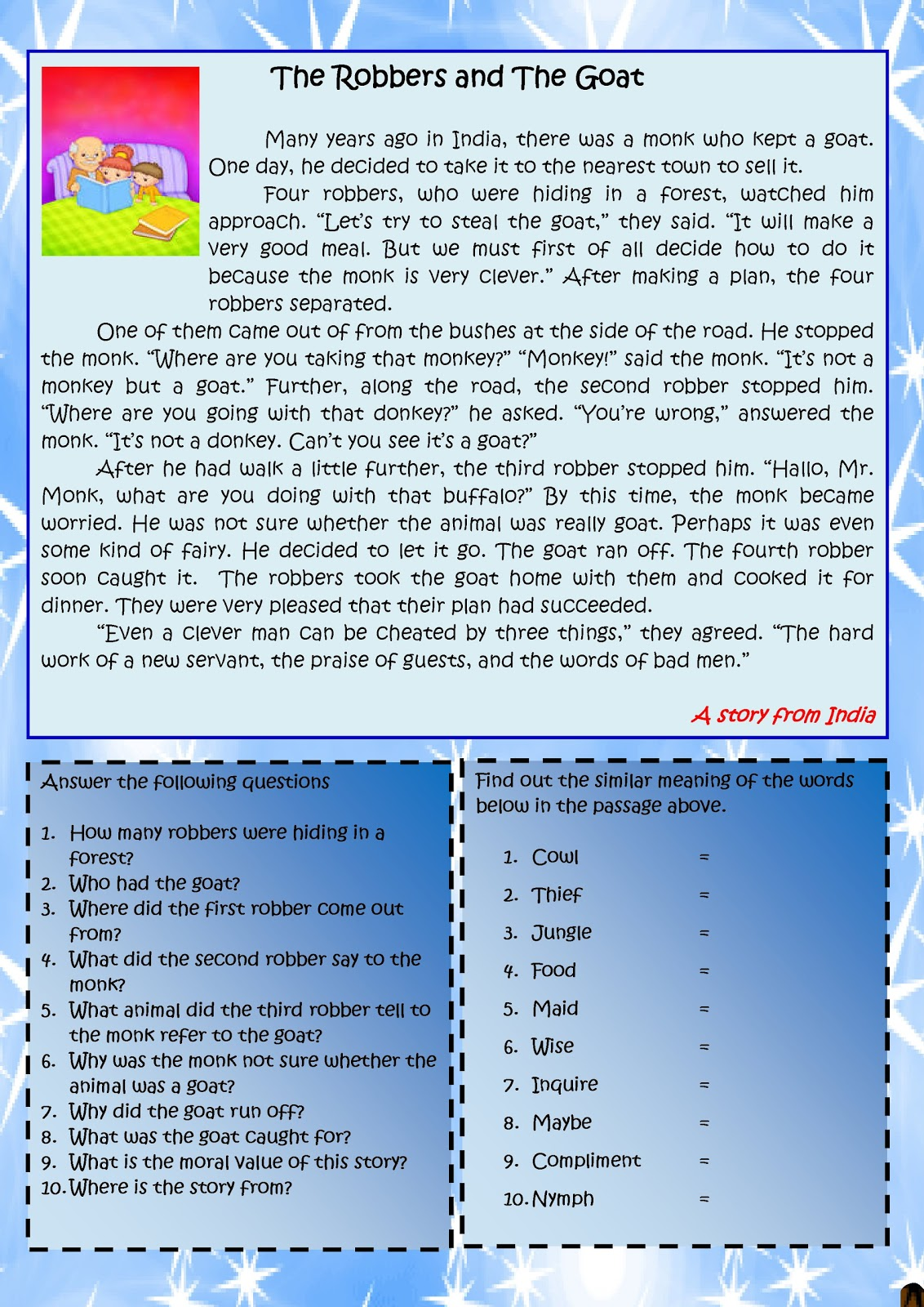 My English Class A Story From Asia 1