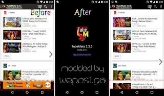 Download Tubemate apk paid version