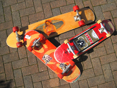 my skateboards
