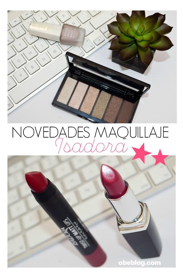 Novedades_Maquillaje_Perfumerías_DOUGLAS_ISADORA_ObeBlog