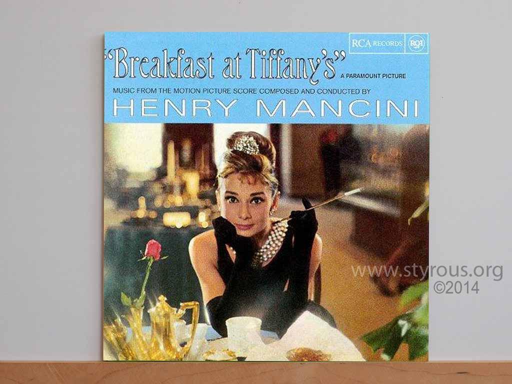 The Vinyl LP Vault: Breakfast at Tiffiny's soundtrack