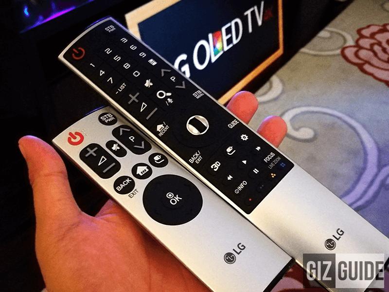 LG's remote and magic remote